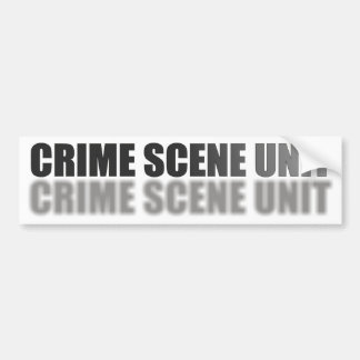 UNIDADE DA CENA DO CRIME ADESIVO PARA CARRO