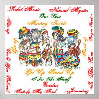 Unidade da reggae posteres