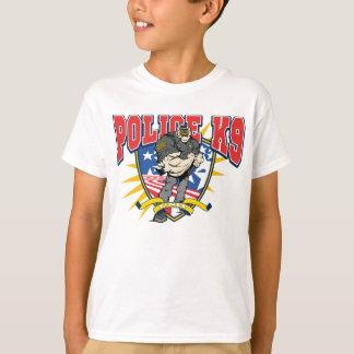 Unidade patriótica da polícia K9 Camiseta
