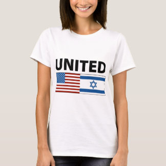 Unido com a Israel Camiseta