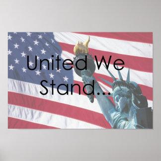 Unido nós estamos posters