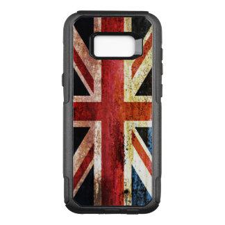 Union Jack antiquado Capa OtterBox Commuter Para Samsung Galaxy S8+