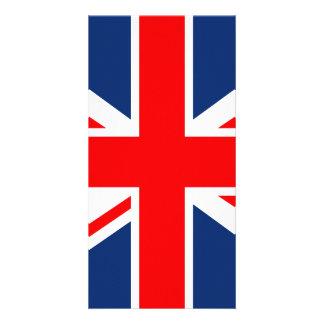 Union Jack - bandeira BRITÂNICA Cartão Com Foto