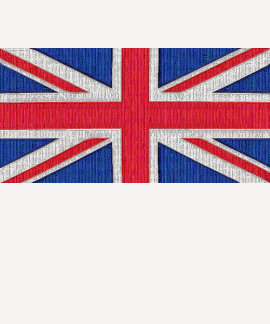 Union Jack - bandeira do Reino Unido Camisetas