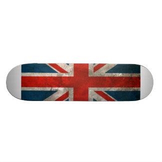 Union Jack britânico Shape De Skate 18,1cm