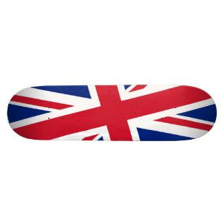 Union Jack britânico Shape De Skate 18,4cm