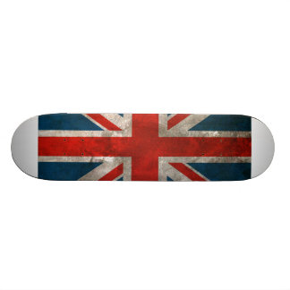 Union Jack britânico Skates Personalizados