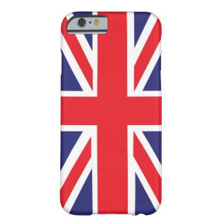 Union Jack de Grâ Bretanha Capa Barely There Para iPhone 6