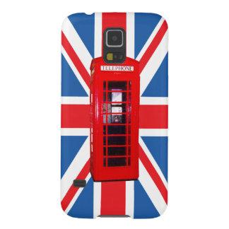 Union Jack/design caixa da bandeira & do telefone Capinha Galaxy S5