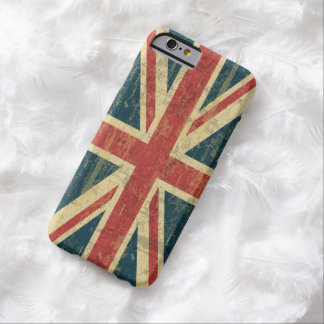 Union Jack sujo Capa Barely There Para iPhone 6
