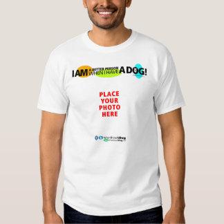 Unisex quando eu mandar um cão - o personalizar! tshirt