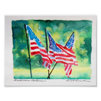 United-States-Flag03 Posters