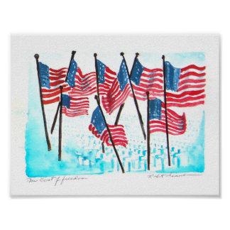 United-States-Flag04 Posters