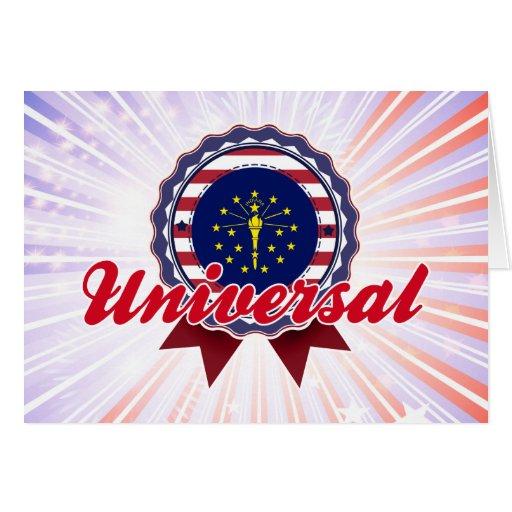 Universal, DENTRO Cartoes