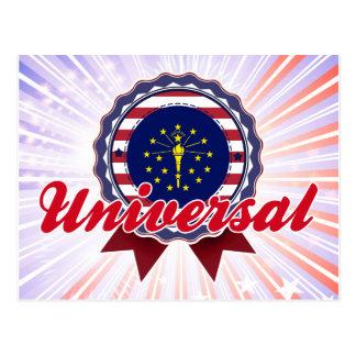 Universal, DENTRO Cartões Postais