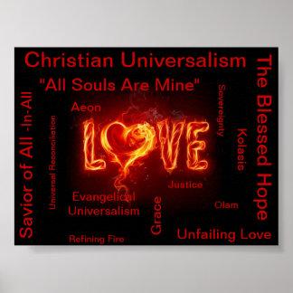 Universalismo cristão evangélico poster