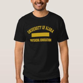 Universidade aloha da camisa do Gym Camisetas