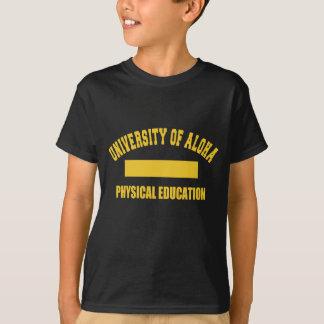 Universidade aloha da camisa do Gym T-shirt