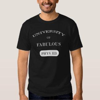 Universidade de fabuloso tshirts