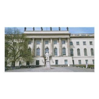 Universidade de Humboldt em Berlim Cartão Com Foto