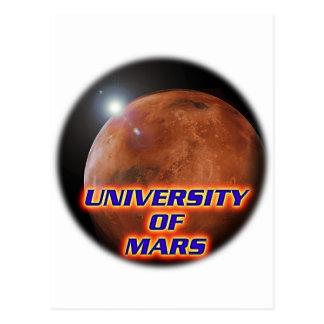 Universidade de Marte Cartão Postal