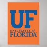 Universidade do F do logotipo de Florida Impressão