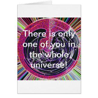 Universo Cartão Comemorativo