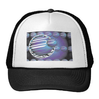 UNIVERSO ESFÉRICO do chapéu do camionista Boné