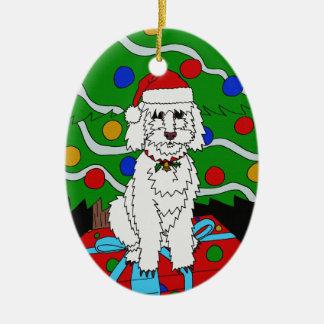 Uns enfeites de natal de Doggo