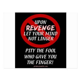 UponRevenge-PityTheFool Cartão Postal