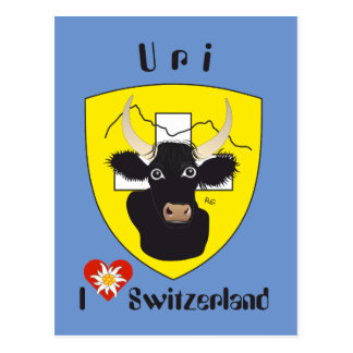 Uri Suíça Suisse Svizzera Svizra cartão postal