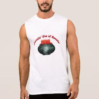 Urna de Churnin do funk de Burnin Camisa Sem Mangas