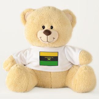 Ursinho De Pelúcia A bandeira de Jamaica colore o urso de ursinho