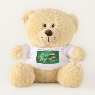 Ursinho De Pelúcia Abraços irlandeses