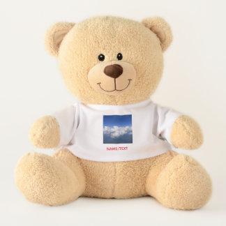 Ursinho De Pelúcia acima das nuvens 03