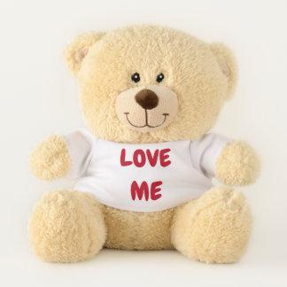 Ursinho De Pelúcia Ame-me urso do dia dos namorados