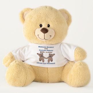 Ursinho De Pelúcia BFF (amigos Urso-est para sempre) personalizado