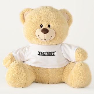 Ursinho De Pelúcia Bonspiel, urso de ursinho de ondulação do