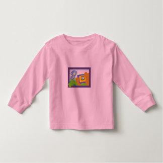 Ursinho de pelúcia borboleta ilustração camiseta infantil