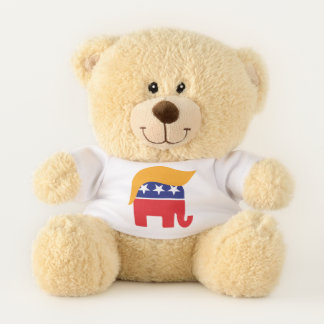 Ursinho De Pelúcia Cabelo do elefante do GOP do presidente Donald