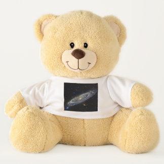 Ursinho De Pelúcia Céu estrelado da galáxia do Andromeda
