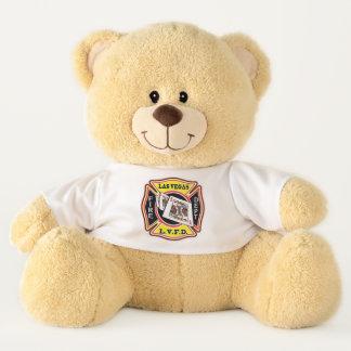 Ursinho De Pelúcia Departamento dos bombeiros de Las Vegas