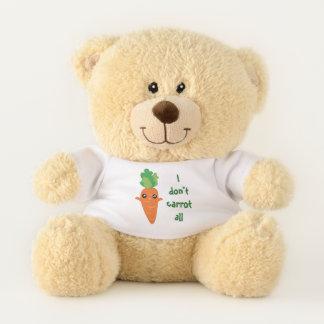 Ursinho De Pelúcia Engraçado eu não faço cenoura todos os desenhos