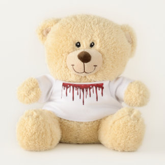 Ursinho De Pelúcia Gotejamentos do sangue de Falln