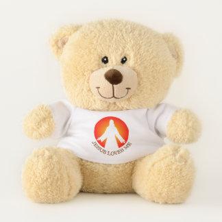 Ursinho De Pelúcia Jesus ama-me urso de ursinho