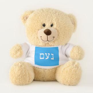 Ursinho De Pelúcia Noam no hebraico