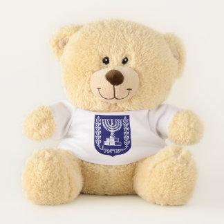 Ursinho De Pelúcia O emblema de Israel - versão do Knesset