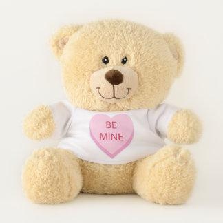 Ursinho De Pelúcia Seja coração dos doces da mina