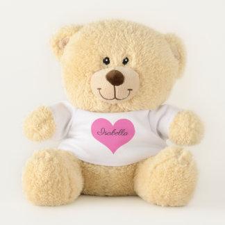 Ursinho De Pelúcia Seu nome neste presente dos namorados do coração |