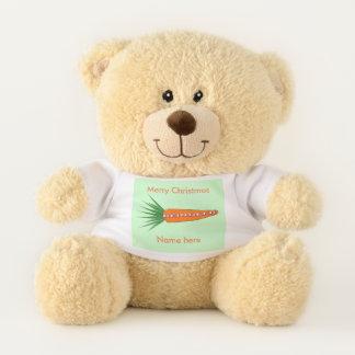Ursinho De Pelúcia Uma cenoura para o urso de ursinho da rena do